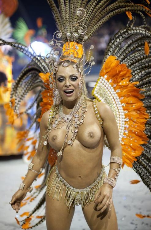 голый бразильский карнавал фото